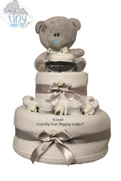 Official Me to You Tatty Teddy unisex baby gift by Coochy Coo Nappy Cakes www.coochycoonappycakes.co.uk