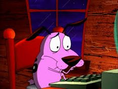 Having professional crises on a regular basis. 25 Courage The Cowardly Dog GIFs That Look Exactly Like Your Quarter-Life Crisis Like Crazy, Exactly Like You, Cartoon Network, Johnny Bravo, Kim Possible, Danny Phantom, Wallpaper Iphone Disney, Cartoon Wallpaper, What Is Courage