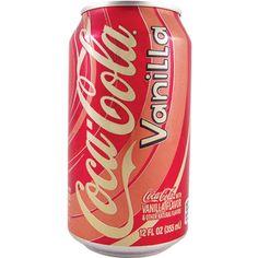 coca cola vanille can - Google zoeken