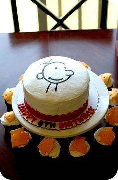 """""""Diary of a Wimpy Kid"""" Birthday Party Idea"""