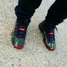 Supreme Jordan 11s Low GottaLoveDesss