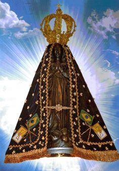 Nossa Senhora Aparecida: Imagem com oração
