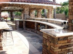 Outdoor Living Space Planning: Extend Your Life Outside! Love this outdoor space! The post Outdoor Living Space Planning: Extend Your Life Outside! appeared first on Outdoor Diy. Outdoor Kitchen Patio, Outdoor Kitchen Design, Outdoor Kitchens, Outdoor Living Rooms, Outside Living, Living Spaces, Backyard Patio Designs, Backyard Bar, Pool Houses