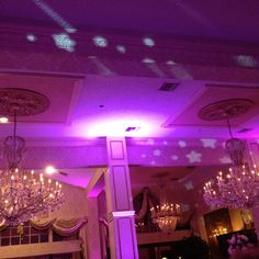 #giorgios at fox hill - the gorgeous chandeliers of my wedding venue!