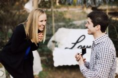He proposed to her at the place of their very first date. <3