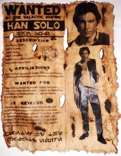 Han Wanted Poster