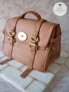 This is my kind of cake - a designer bag that's yummy cake! 🎂 🌻 Designer handbag birthday cake by The Designer Cake Company