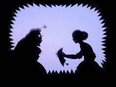 Lotte Reiniger Cinderella Fairy Godmother Silhouette 
