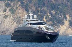 Roberto Cavalli's Yacht in Portofino. #Italia