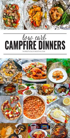 Easy low carb dinner ideas you can make around the campfire summer recipes summer recipes abendessen rezepte recipes recipes dessert recipes dinner Foil Pack Meals, Tin Foil Dinners, Campfire Food, Campfire Breakfast, Campfire Recipes, Easy Campfire Meals, Meal Planning, Camping Hacks, Camping Cooking