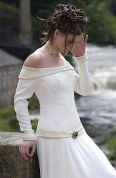 Irish Celtic Wedding Headpieces | wedding dress popular in 1499. In the 19th century colored bridal ...