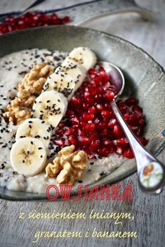 Acai Bowl, Cereal, Good Food, Menu, Healthy Recipes, Vegan, Breakfast, Blog, Inspiration