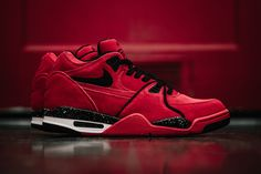 Portland-based sportswear giant Nike has released a red-hot colorway of their often-overlooked Nike Air Flight 89 silhouette.