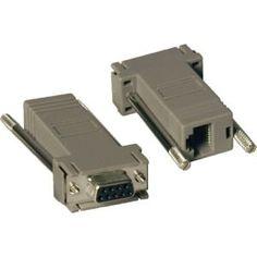 Tripp Lite Null Modem Serial RS232 Modular Adapter Kit 2x DB9F to RJ4 #P450-000