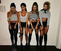 Hot College Halloween Costumes easy halloween costumes t. - Hot College Halloween Costumes easy halloween costumes to copy Source by - Cute Group Halloween Costumes, Couples Halloween, Trendy Halloween, Halloween College, Halloween 2018, Girl Group Costumes, Halloween Diy, Costume Ideas For Groups, Woman Costumes