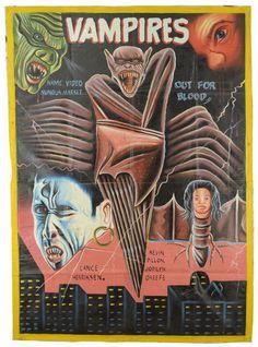 VAMPIRES - Original Ghana poster