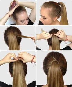 6 Super Easy Hairstyles for Finals Week - List of the best Women's Hairstyles Super Easy Hairstyles, Latest Hairstyles, Girl Hairstyles, Simple Hairdos, School Hairstyles, Daily Hairstyles, Stylish Hairstyles, Formal Hairstyles, Everyday Hairstyles