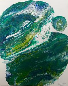 vanThor: Grüne Welle Waves, Outdoor, Painting, Photography, Art, Minerals, Pictures, Outdoors, Painting Art
