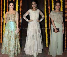 Celebrity Festive Dresses