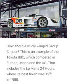 Wings Group, Car Museum, Le Mans, Toyota, Japan