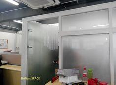 Glass System Wall (不上頂屏風裝置) 3