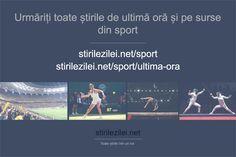 Urmăriți toate știrile de ultimă oră și ultimele știri pe surse din sport, pe paginile de mai jos: stirilezilei.net/sport/ stirilezilei.net/sport/stiri-de-ultima-ora/ #stiri #sport #Romania Mai, Sports, Hs Sports, Sport