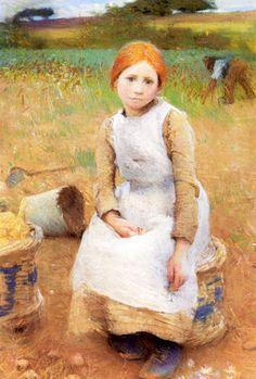 George Clausen (1852 – 1944, English)