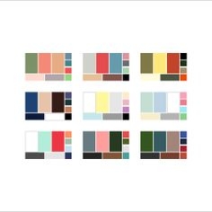 36 Colour palettes for your wardrobe + how to build your own