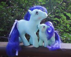 Mommy and Baby Hopscotch [UK MLP My Little Pony G1 Hasbro]