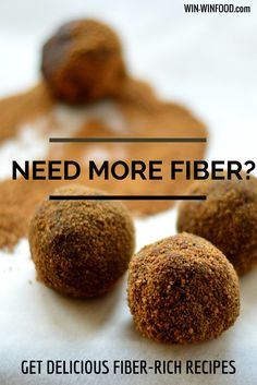 Fiber: Why Do We Need It? | WIN-WINFOOD.com Delicious fiber rich recipes included #nutrition #cleaneating #healthyeating