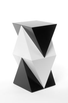 geometric abstract sculpture cube - Google Search