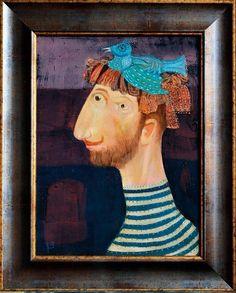 Georgian artist Vakhtang Janiashvili (Jano)