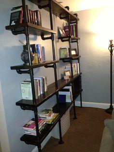 Rustic/Industrial Bookshelf