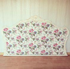 muebles restaurados - cabecero de cama restaurado fusta i ferro