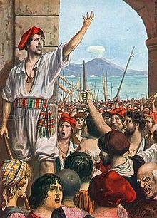 Tommaso Aniello d'Amalfi detto Masaniello, Rivoluzionario e Re senza corona. #ilovenapoli