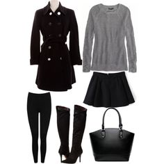 Classy by lillelidda on Polyvore featuring polyvore, fashion, style, American Eagle Outfitters, Elie Tahari, M&Co and Report