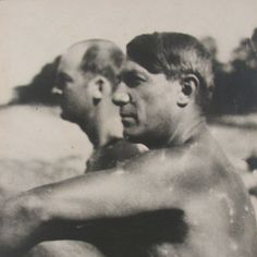 Pablo Picasso and Gerald Murphy, Antibes, 1923