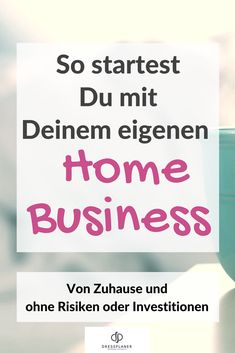 Mode Home Business - Beautymotions by Petra Bach Make Money From Home, Make Money Online, How To Make Money, Business Advice, Online Business, Fashion Online Shop, Blog Online, Business Magazine, Shopping Hacks