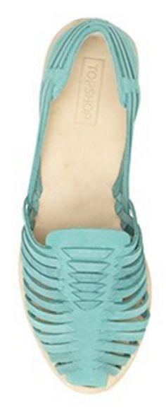 old-school huarache sandal in #mint http://rstyle.me/n/jypddnyg6