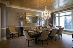 Contemporary dining room by A. Rejeanne Interiors