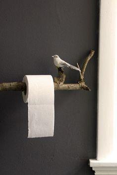 Leuke wc-rolhouder!