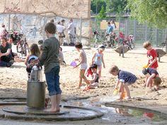 waterspeelplek in Berlijn
