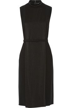 Gucci Belted satin dress | NET-A-PORTER