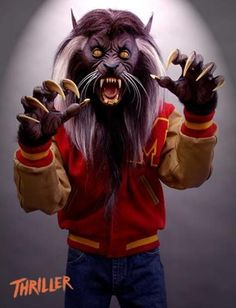 Michael Jackson Thriller Wolf Lifesize Movie Prop
