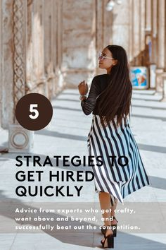 These are the best strategies to get the job.  Job Hunting, Get The Job, Get Hired, Getting Hired, Hiring Advice, Job Advice, Career Advice, Job Search, Career Tips, Career Hacks, How To Get Hired