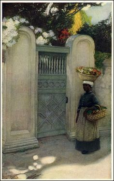 Anna Whelan Betts (1875–1952) American illustrator, Nice collection of her paintings can ve found here: http://www.artistsandart.org/2012/08/anna-whelan-betts-18751952-american.html