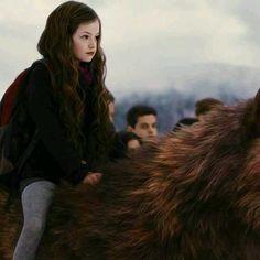 Breaking Dawn Part 2. Renesmee on top of Jacob