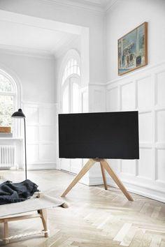 Living Room Scandinavian Television - NEXT TV floor stand Light Oak. Tv Furniture, Classic Furniture, Furniture Styles, Furniture Design, Furniture Websites, Pied Support Tv, Tv Floor Stand, Living Room Tv, Colorful Furniture