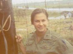 Unknown Vietnam Army Nurse.
