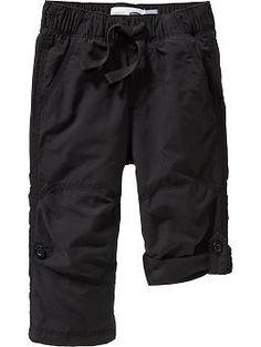 Poplin Convertible Pants for Baby  #fall